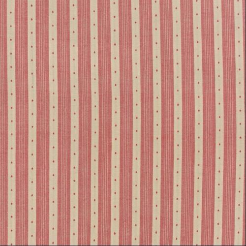 Moda Fabrics ~ Petite Prints & Wovens ~ Dotty Stripe Rouge
