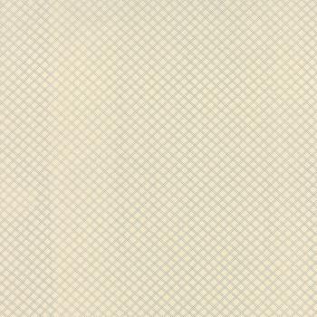 Moda Fabrics ~ Silver Linings Shirtings ~ Crosshatch Cream Blue