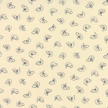 Moda Fabrics ~ Silver Linings Shirtings ~ Oliver Cream Blue