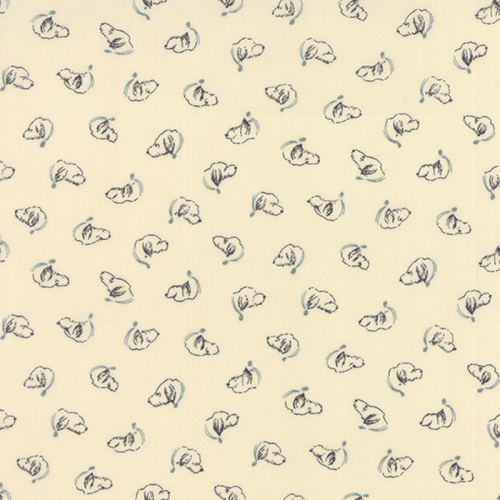Moda Fabrics ~ Silver Linings Shirtings ~ Oliver Cream Blue