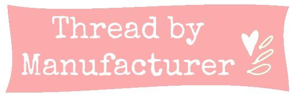 Thread by Manufacturer