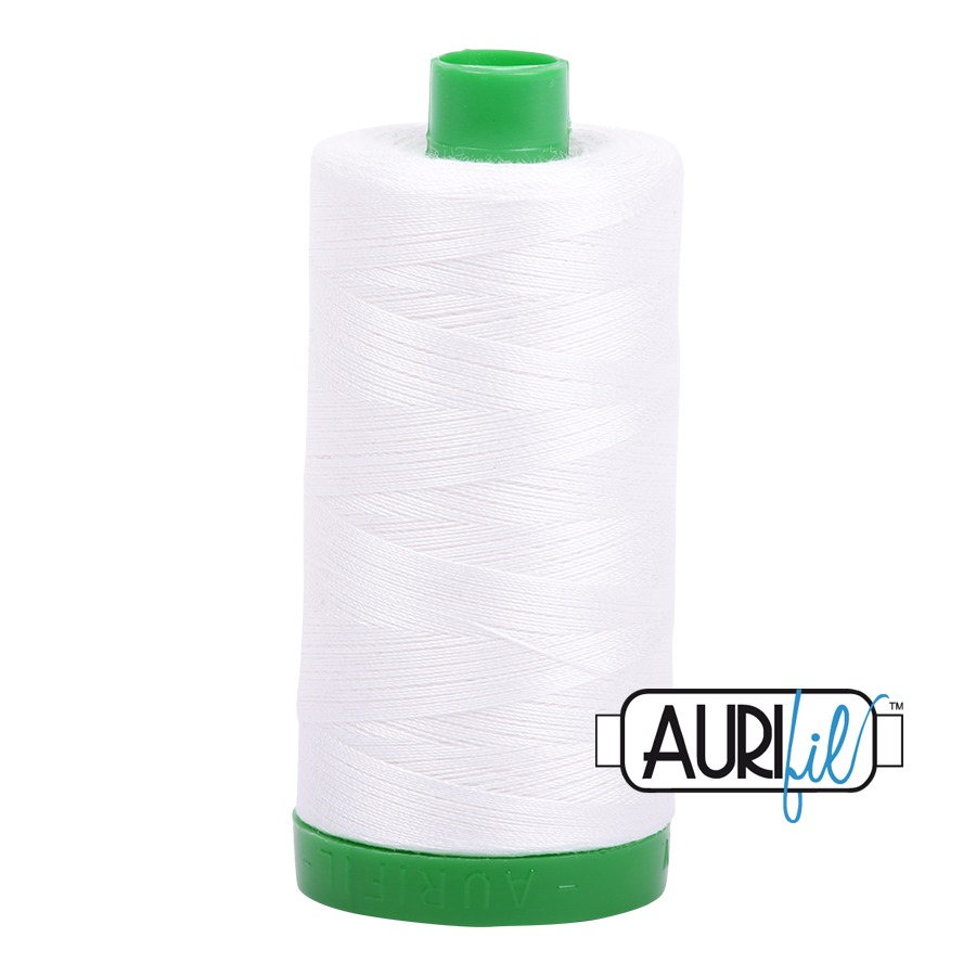 Aurifil ~ 40 wt Cotton