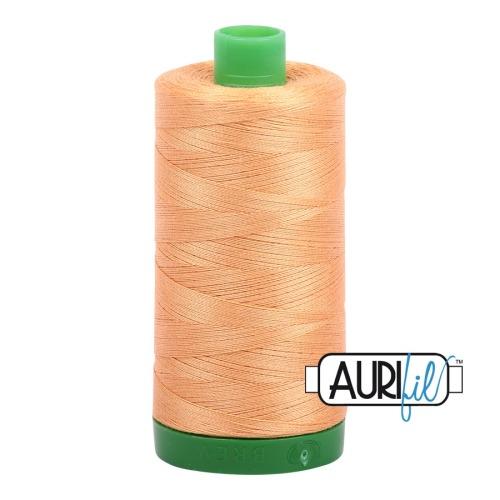 Aurifil ~ 40 wt Cotton ~ 2214 ~ Pale Orange