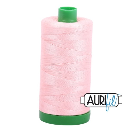 Aurifil ~ 40 wt Cotton ~ 2415 ~ Blush