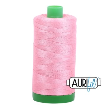 Aurifil ~ 40 wt Cotton ~ 2425 ~ Bright Pink