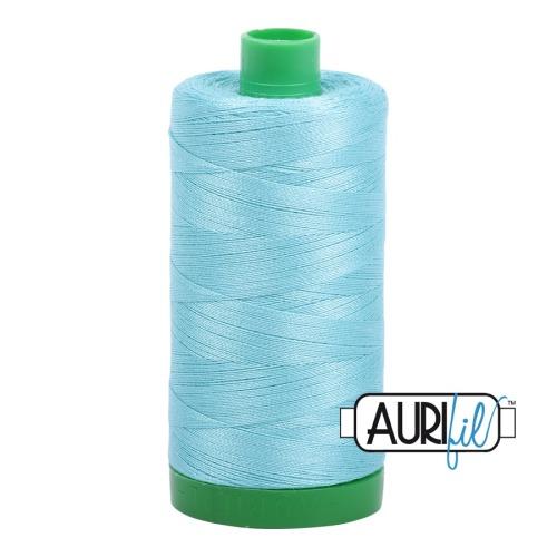 Aurifil ~ 40 wt Cotton ~ 5006 ~ Aqua
