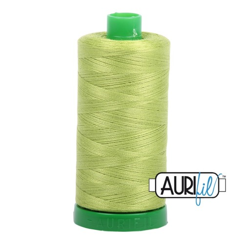 Aurifil ~ 40 wt Cotton ~ 1231 ~ Spring Green