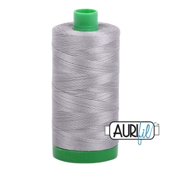 Aurifil ~ 40 wt Cotton ~ 2620 ~ Stainless Steel