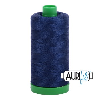Aurifil ~ 40 wt Cotton ~ 2784 ~ Dark Navy Blue