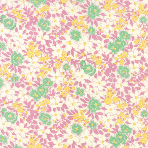 Moda Fabric ~ 30's Playtime ~ Blossoms Sweet Lilac