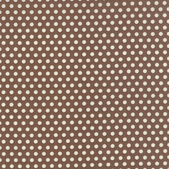 Moda Fabric ~ 30's Playtime ~ Dots Cocoa