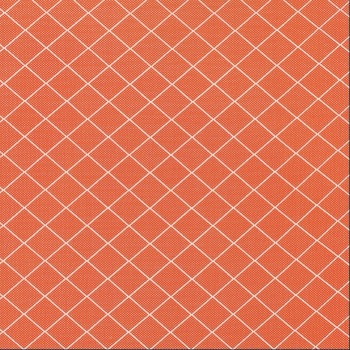 Moda Fabrics ~ Bread 'N' Butter ~ Diamond Grid Orange