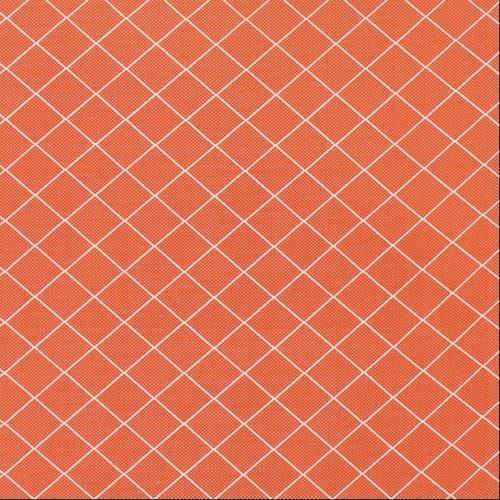 Moda Fabrics ~ Bread 'N' Butter ~ Diamond Grid Orange