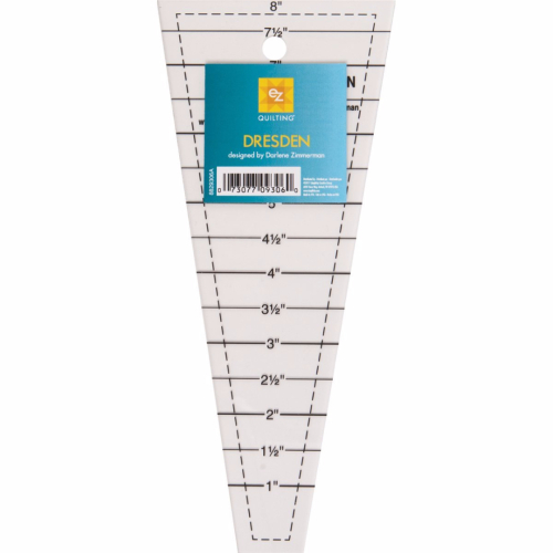 EZ Easy Dresden Quilting Ruler