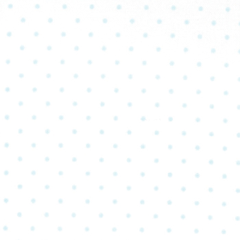 Moda Fabrics ~ Essential Dots ~ Dot in White with Baby Blue Spots