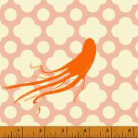 Windham Fabrics ~ Mendocino ~ Large Octopus Blush