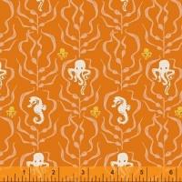 Windham Fabrics ~ Mendocino ~ Kelp Forest Orange
