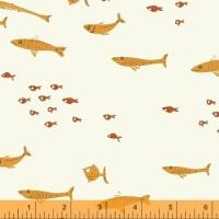 Windham Fabrics ~ Mendocino ~ Swim Class Orange