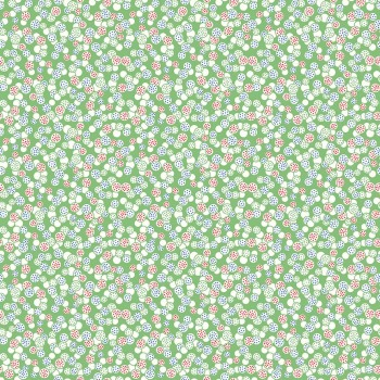 Penny Rose Fabrics ~ Hope Chest 2 ~ Circles Green