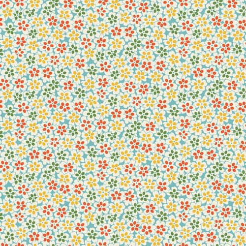 Penny Rose Fabrics ~ Hope Chest 2 ~ Main Teal