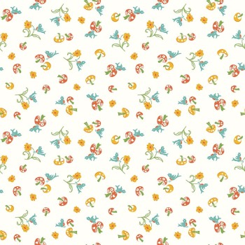 Penny Rose Fabrics ~ Hope Chest 2 ~ Mushroom Orange