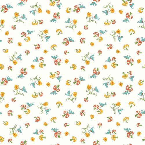 Penny Rose Fabrics ~ Hope Chest 2 ~ Mushroom Orange