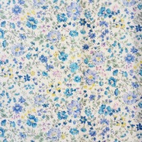 Sevenberry Fabric ~ Wild Flowers Blue