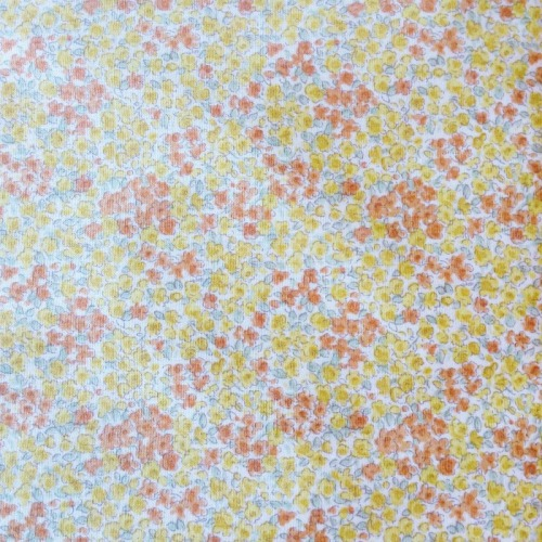 Sevenberry Fabric ~ Sprinkle Flowers in Yellow