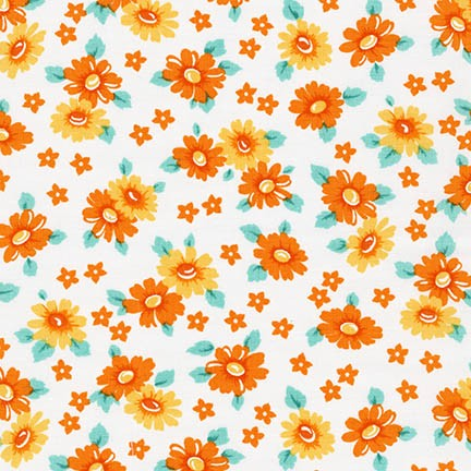 Robert Kaufman Fabrics ~ Morningside Farm ~ Daisies Yellow