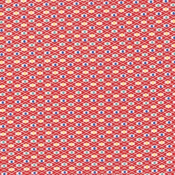 Robert Kaufman Fabrics ~ Morningside Farm ~ Diamond Dot Red