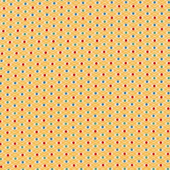 Robert Kaufman Fabrics ~ Morningside Farm ~ Diamond Dot Screamin' Yellow