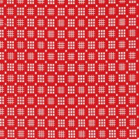 Robert Kaufman Fabrics ~ Morningside Farm ~ Tic Tac Toe Red