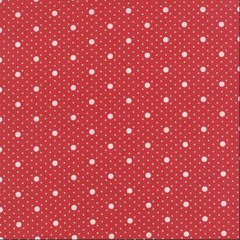 Moda Fabrics ~ Miss Scarlet ~ Polka Dot Scarlet