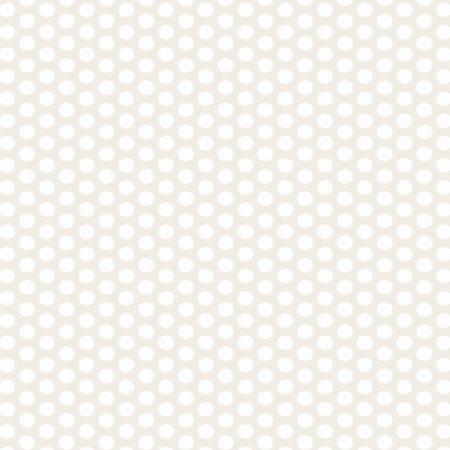 Moda Fabric ~ Muslin Mates ~ Polka Dots White