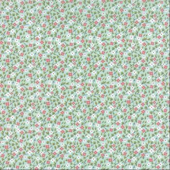 Moda Fabrics ~ Little Miss Sunshine ~ Dainty Blooms Summer Sky