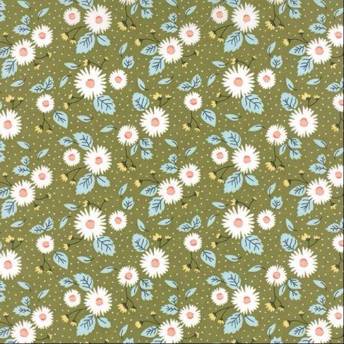 Moda Fabrics ~ Little Miss Sunshine ~ Fresh Daisies Leaf