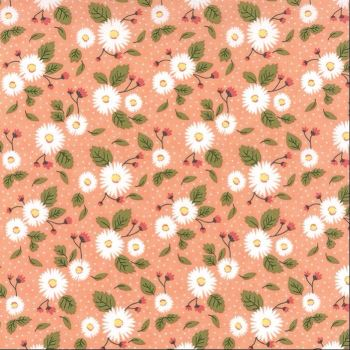 Moda Fabrics ~ Little Miss Sunshine ~ Fresh Daisies Peach