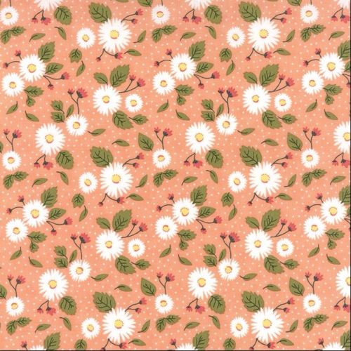 Moda Fabrics ~ Little Miss Sunshine ~ Fresh Daisies Peach