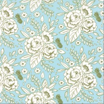 Moda Fabrics ~ Little Miss Sunshine ~ Happy Dance Summer Sky