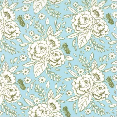 Moda Fabrics ~ Little Miss Sunshine ~ Happy Dance Summer Sky