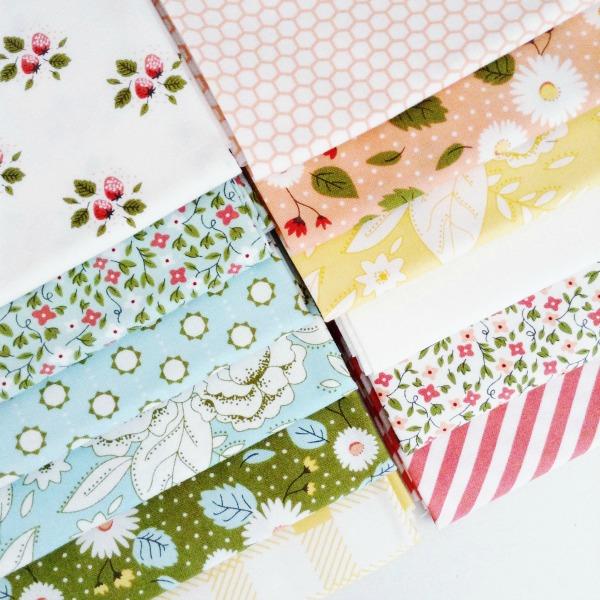 Little Miss Sunshine Moda Fabrics