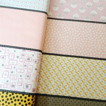 Moda Fabrics ~ Lollies ~ Luna Rock Salt