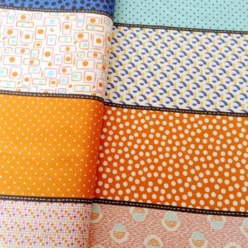Moda Fabrics ~ Lollies ~ Luna Lava