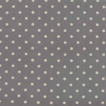 Moda Fabrics ~ Linen Mochi Dots ~ Graphite