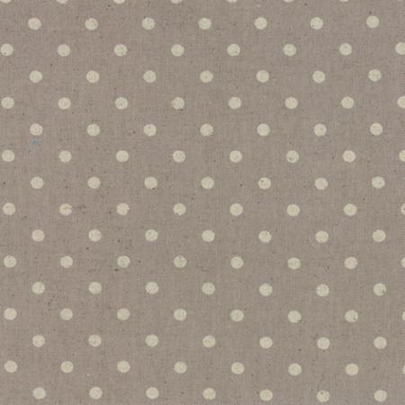 Moda Fabrics ~ Linen Mochi Dots ~ Putty