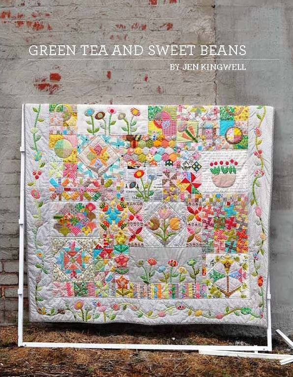 Jen Kingwell Patterns ~ Green Tea and Sweet Beans