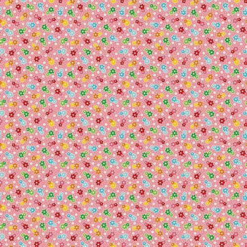 Riley Blake ~ Backyard Roses ~ Floral Pink