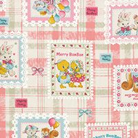 Lecien Fabric ~ Merry Bon Bon ~ Frames