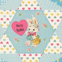 Lecien Fabric ~ Merry Bon Bon ~ Main