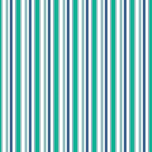 Riley Blake Fabric ~ Cozy Christmas ~ Stripe Navy